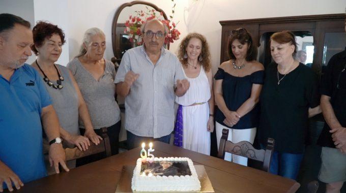 Επίσημη έναρξη του Mikisguide, με τη γιορτή γενεθλίων του Μίκη Θεοδωράκη 2020 στο Γαλατά