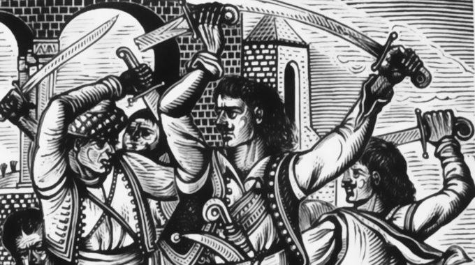 Ανδρέας Κάλβος, Το σάλπισμα του αγώνα